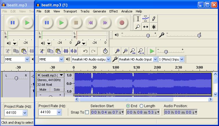 audacity 1.3 beta unicode free download